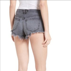 Free People Button fly Cut Off Shorts Size 31